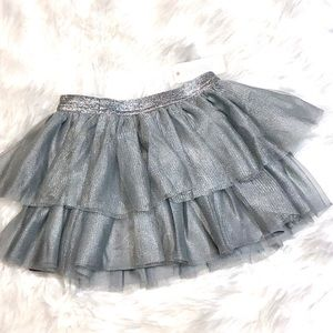 NWT! Gymboree sparkle ruffle skirt